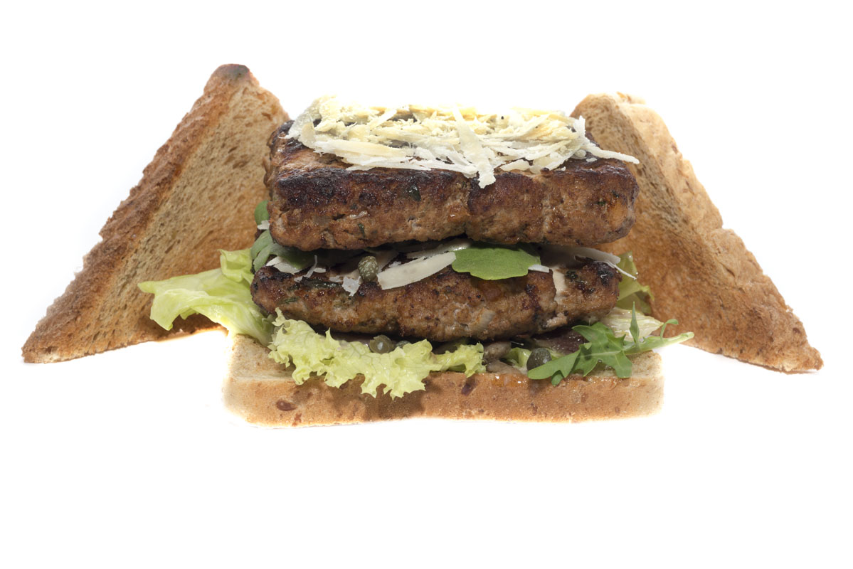 Toast-Burger Vitello tritato tonnato