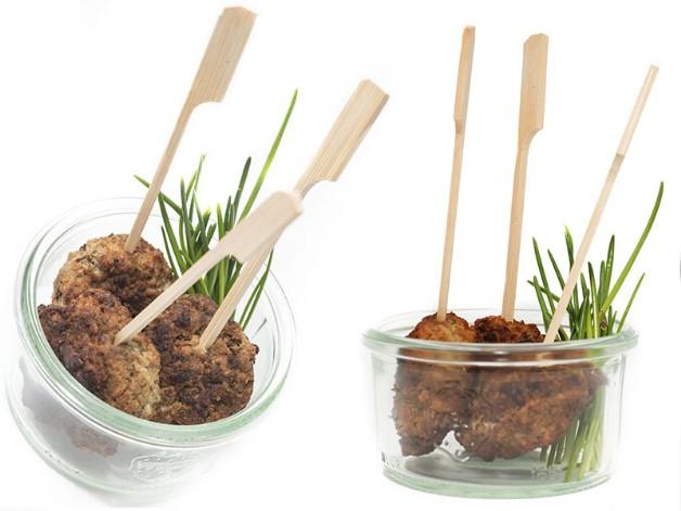 bayerische fleischpflanzerl bayerische brotzeit partyfood fingerfood to go food essen. Black Bedroom Furniture Sets. Home Design Ideas
