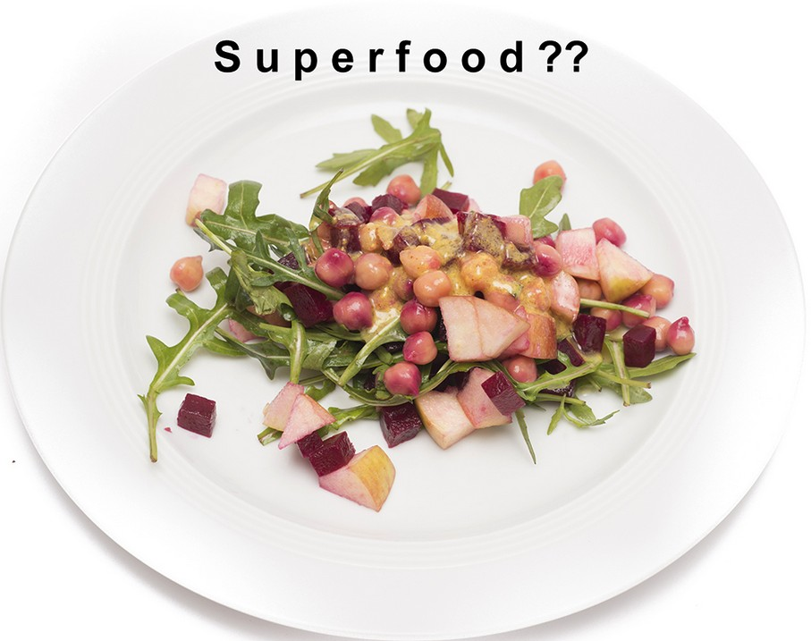 Teller mit Superfood